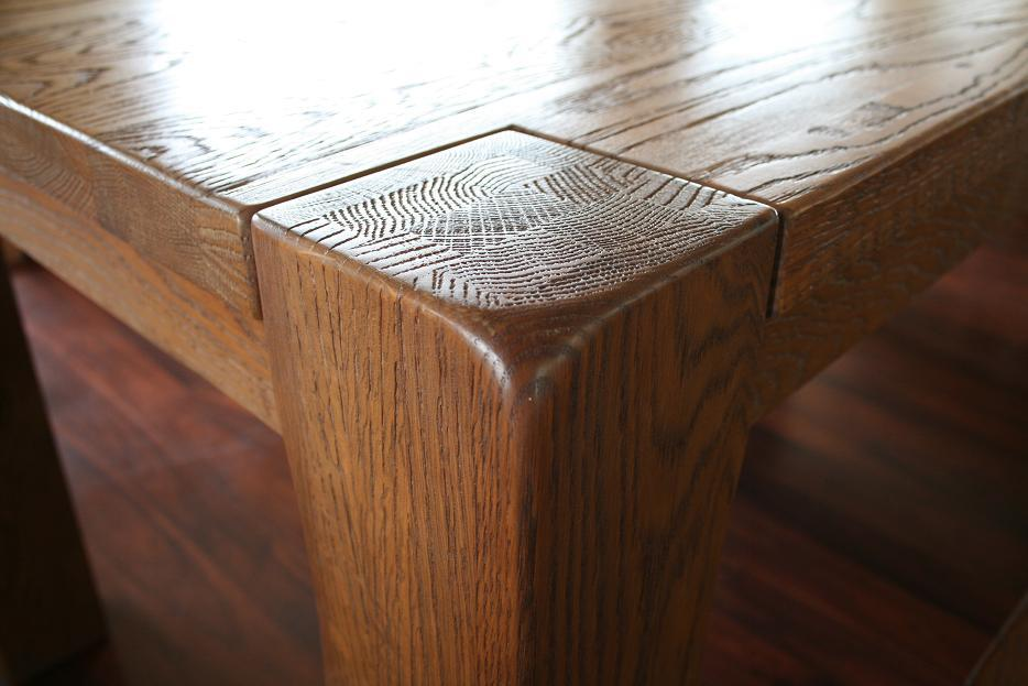 Boston Dark Oak Dining Furniture Chunky Benches Amp Tables