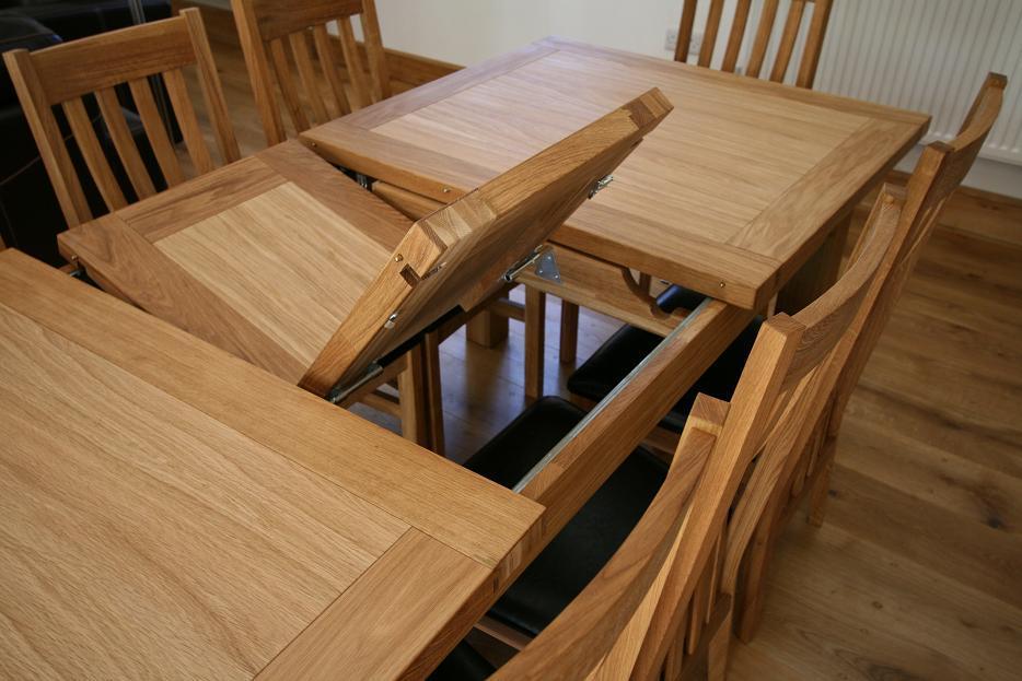 Butterfly Extending Tables Extending Oak Dining Tables