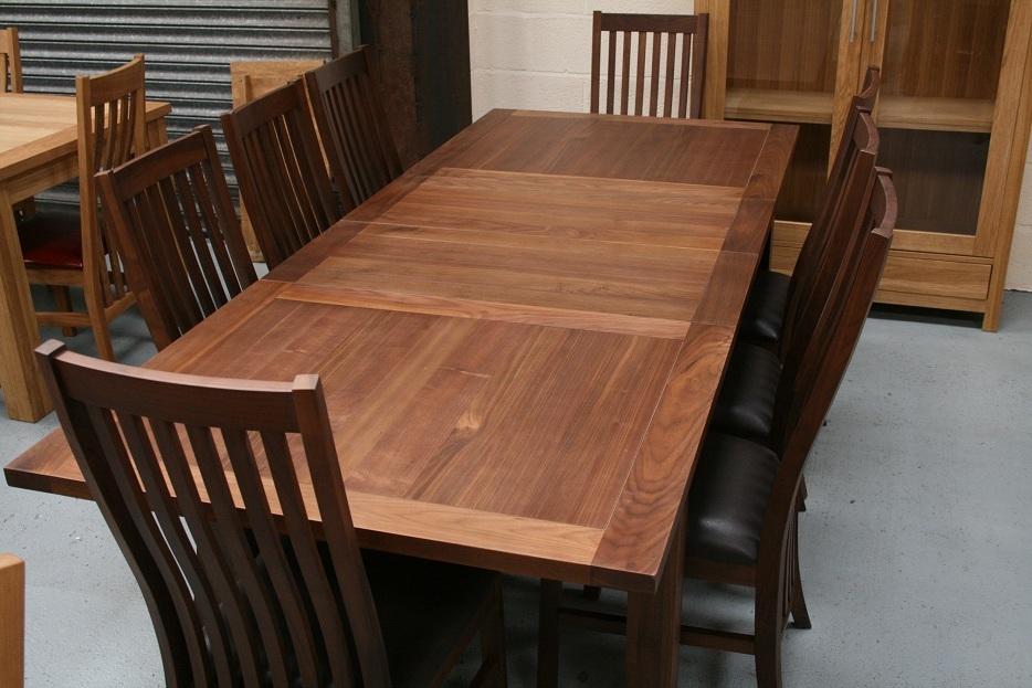 Walnut Dining Table Furniture Dark Walnut Tables Chairs