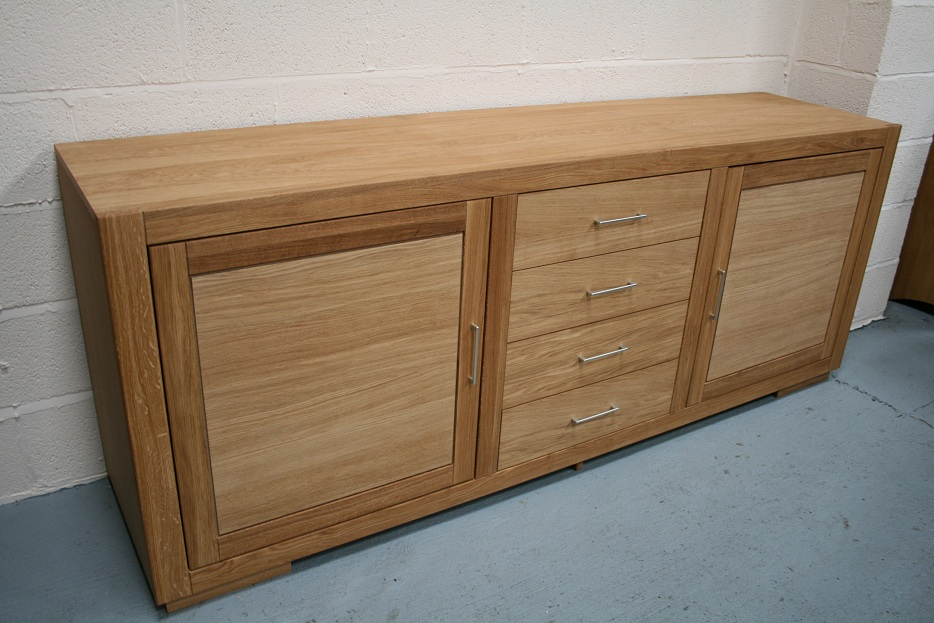 Oak Sideboard Solid Oak Sideboards Oak Dresser Units