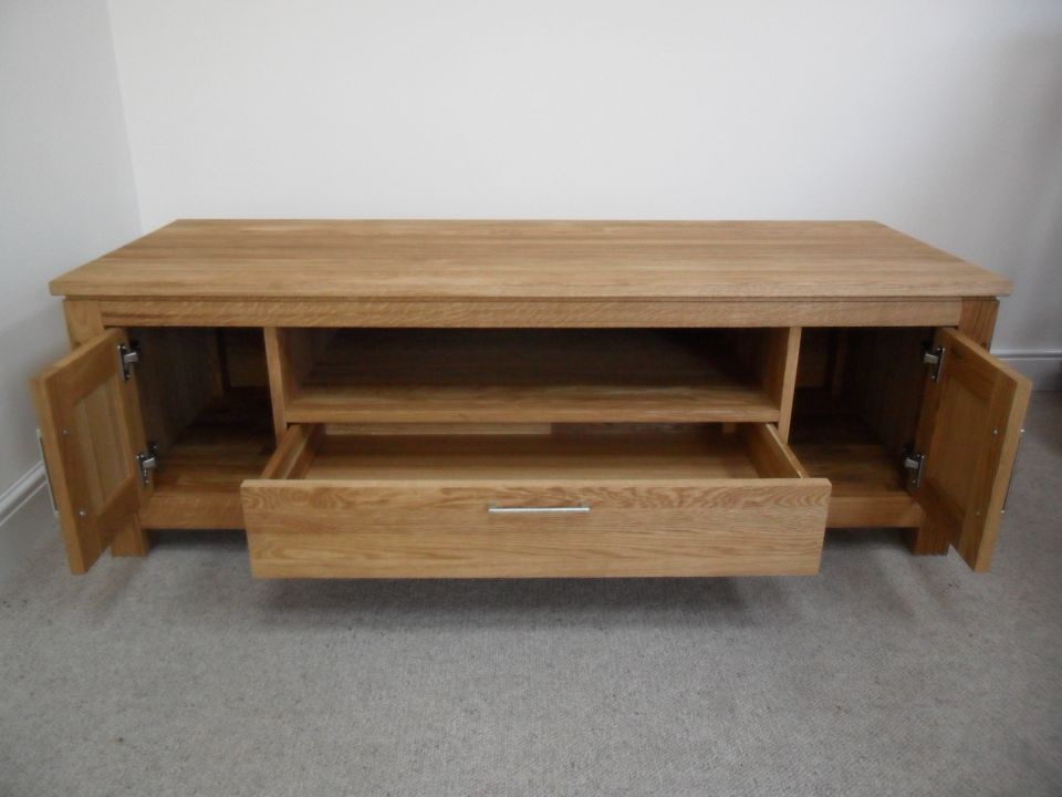 Oak Coffee Table Solid Tables Nest Of