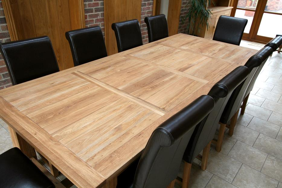 Refectory Tables Oak Dining Table Large