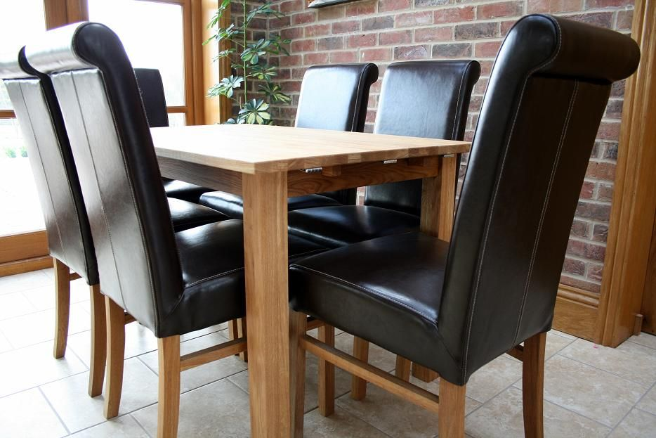 Emperor Chairs Shown With The Table Just 7999 Each In Real Leather A Range Of Colours
