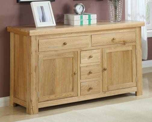 Oslo Solid Oak Dining Furniture Oak Sideboards Large  : Oslo Solid Oak Sideboard 16m 1 from www.oakdiningsets.co.uk size 505 x 404 jpeg 23kB