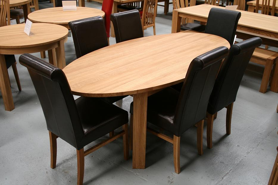 Fabulous Dining Tables from £299 - Round Oval Extending Solid Oak Dining Table  934 x 623 · 85 kB · jpeg