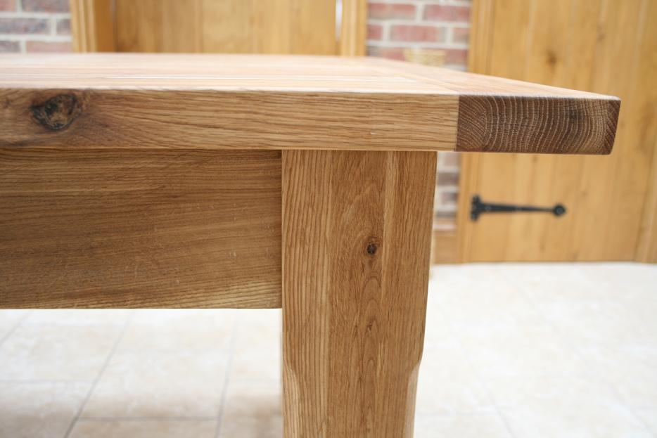 Oslo solid oak dining furniture oak sideboards large for Solid oak dining table