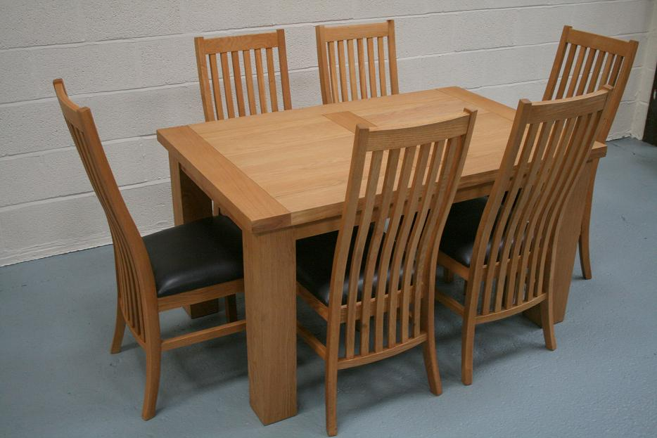 Cheap Dining Tables and Chairs from Oakdiningsets : Riga Oak Table Lichfield Dining Chairs 2 from www.oakdiningsets.co.uk size 934 x 623 jpeg 79kB