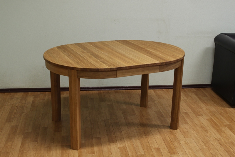 Round Dining Table Extending Round Oval Dining Table : 95cm Small Round Extending Oak Dining Table from www.oakdiningsets.co.uk size 800 x 533 jpeg 176kB