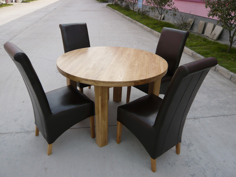 Round Dining Table Extending Oval