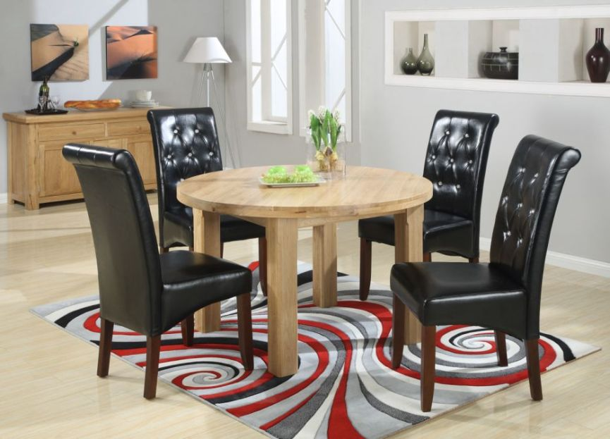 Remarkable Round Dining Tables from £299 - Round Oval Extending Solid Oak Dining  865 x 623 · 97 kB · jpeg