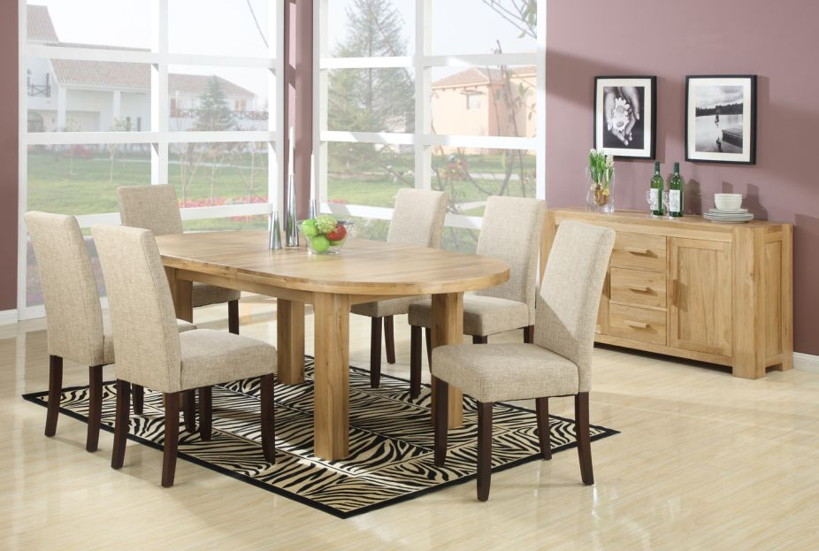 96 Oval Extension Dining Room Tables