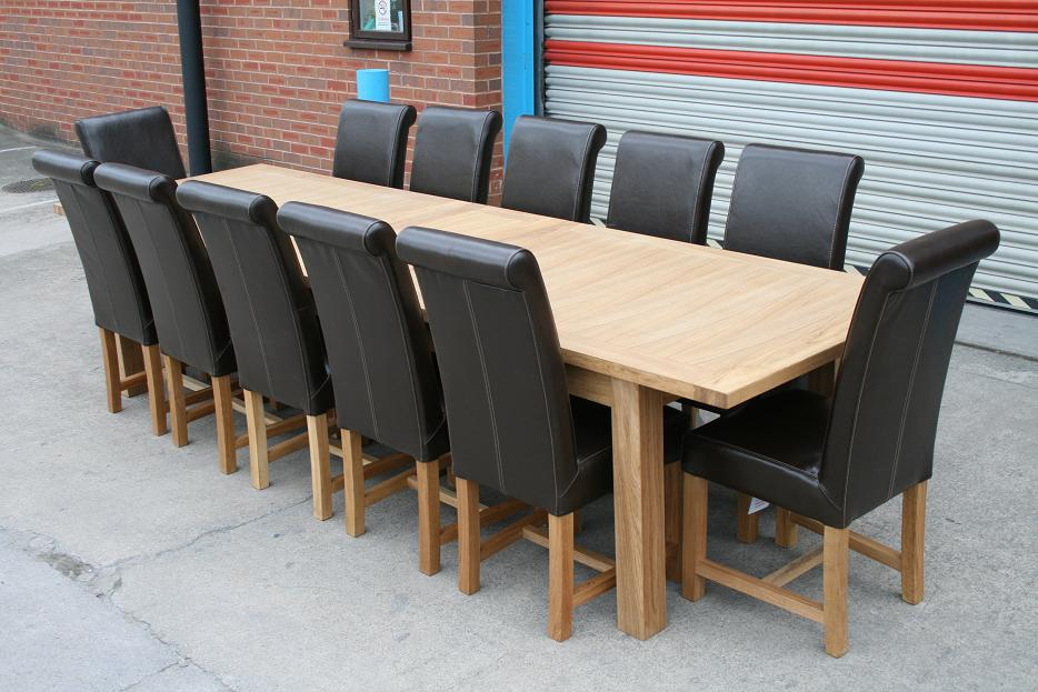 Butterfly Extending Tables Extending Oak Dining Tables : Large 12 Seater Dining Table 2 from www.oakdiningsets.co.uk size 934 x 623 jpeg 105kB