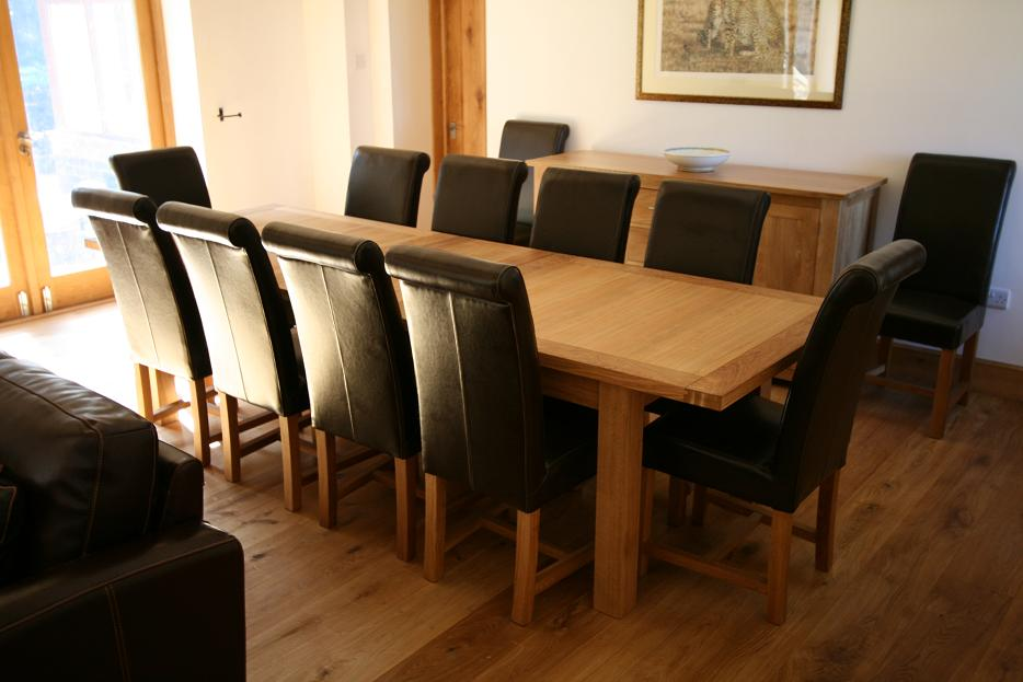 Large Dining Table Seats People Huge Big Tables - Dinner table for 12