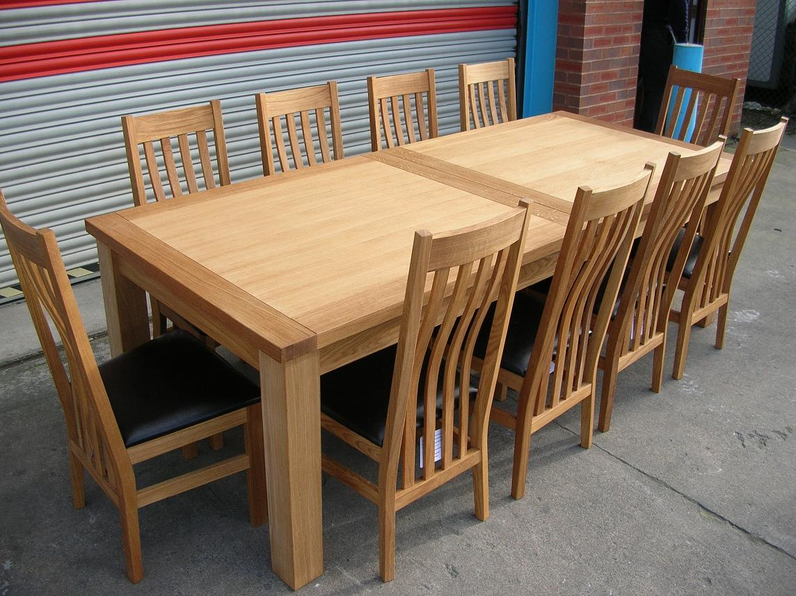 Large oak dining table seats 14 28 images large 14 for Large dining room table