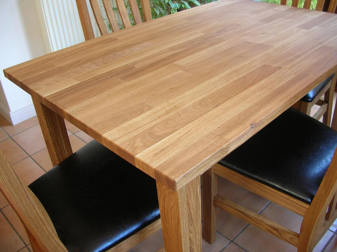 solid oak dining table 80cm x 80cm and 2 leather chairs ebay