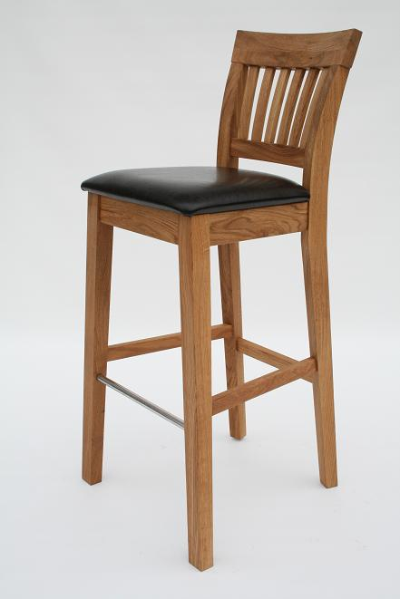 Oak Dining Chairs Leather Chairs Red Cream Brown  : Java Oak Bar Stool 2 from www.oakdiningsets.co.uk size 441 x 661 jpeg 34kB