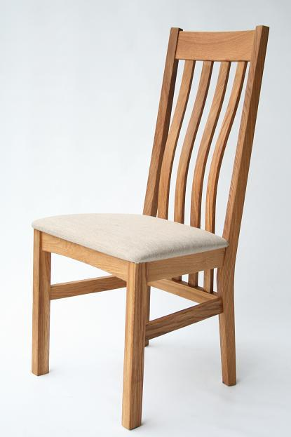 Oak Dining Chairs Leather Chairs Red Cream Brown