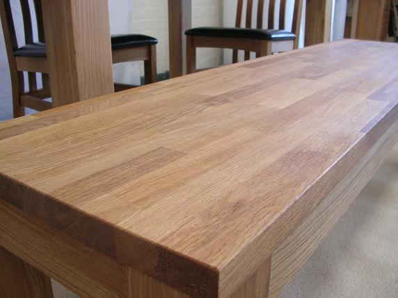 Kitchen Bench In European Hardwood Oak