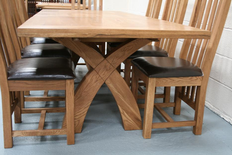 Country Oak Furniture Rustic Oak Dining Table Furniture Oak