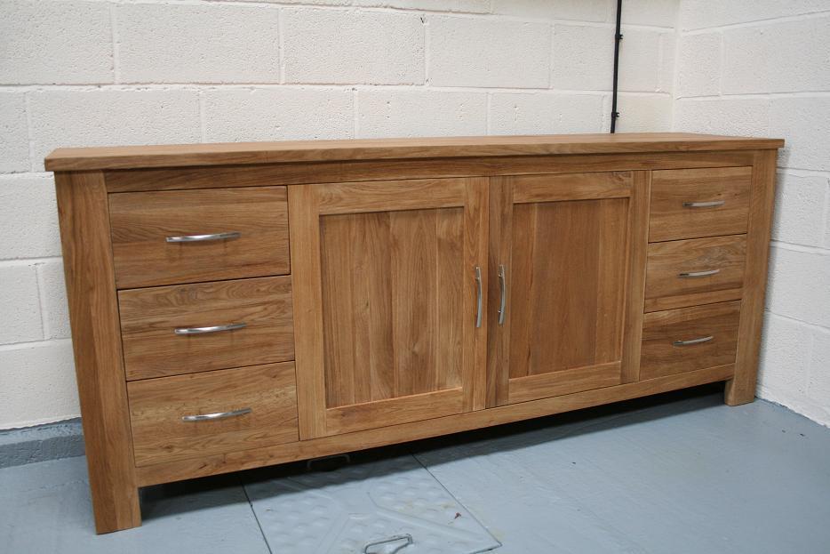 Oak Sideboard Solid Oak Sideboards Oak Dresser Units