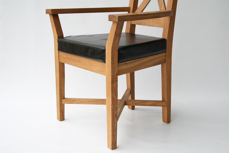 Leather Carver Dining Chair Chair Pads Amp Cushions