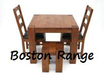 Just �199 for this Boston 90cm x 90cm Solid American Oak Dining Table