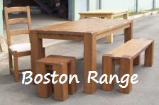 Boston Solid American Oak Range
