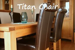 Titan premium leather chairs just �99.99 in a wide range of colours.  Super comfortable S sprung seats