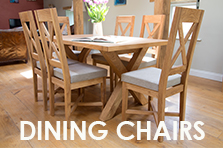 Oak Dining Chairs, Prices from just £49 each Many new designs now available