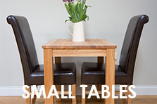 Small Dining Tables, Prices from just �139 for solid European oak tables