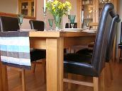 Tallinn Butterfly table and Emperor full leather dining chairs @ �79.99 each.  Faux leather Emperor just �49.99 !