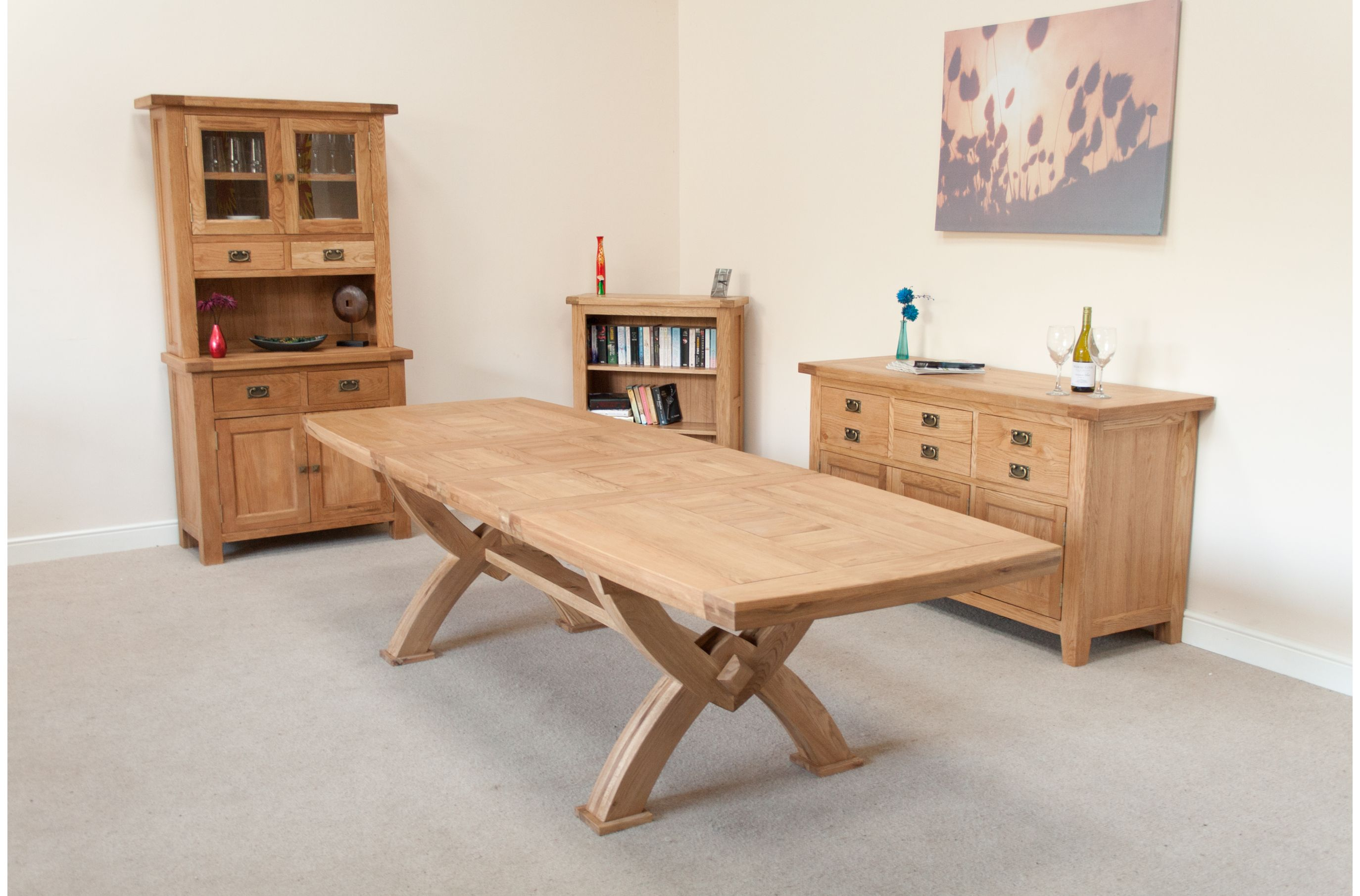 Large Dining Table| Seats 10, 12, 14, 16 people | Huge Big ...